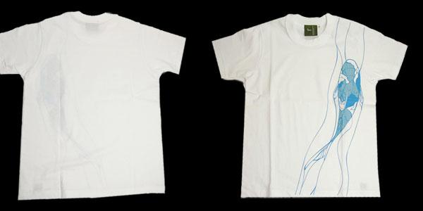 和柄Tシャツ【鯉】