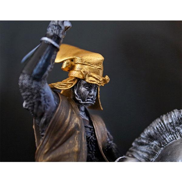 戦国フィギュア【上杉謙信・本金箔押し兜】