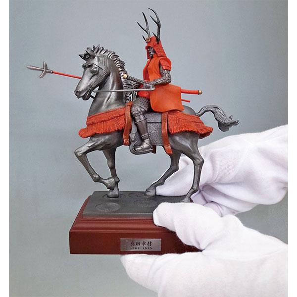 戦国フィギュア【真田幸村・騎馬像】