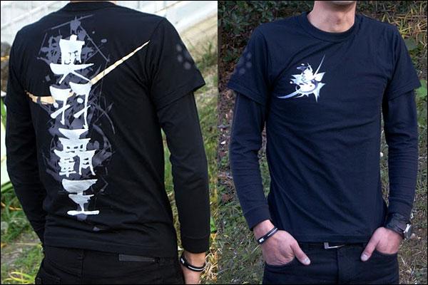戦国武将Tシャツ【独眼竜/伊達政宗】