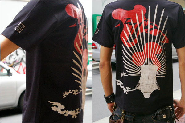 戦国武将Tシャツ【天下統一・豊臣秀吉】
