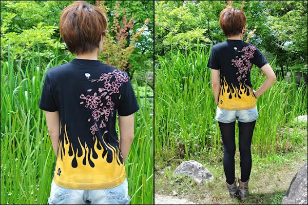 戦国Tシャツ【前田慶次】