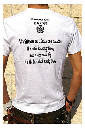 戦国武将tシャツ・第六天魔王/織田信長