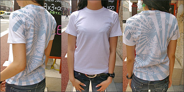 オリジナルデザイン和柄Tシャツ【越後の龍・上杉謙信】