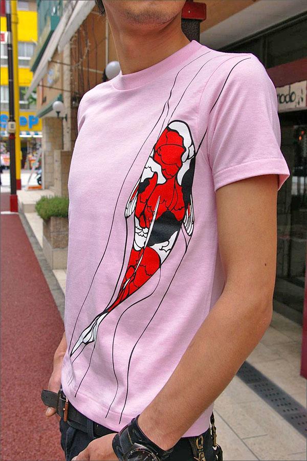 和柄オリジナルデザインTシャツ【鯉】